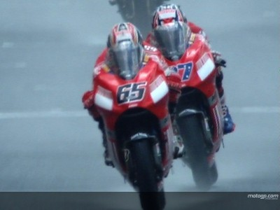 Stoner and Capirossi fully focused for Sachsenring