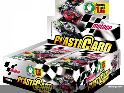 MotoGP collectors cards hit Italian newsstands