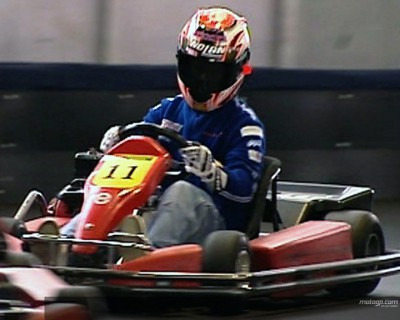 Kart race appetiser for MotoGP riders at Sachsenring