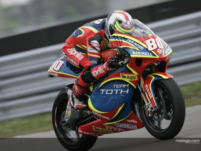 Barbera starts 250cc Sachsenring weekend on front foot