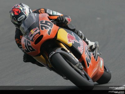 Kallio starts Sachsenring Staurday on top