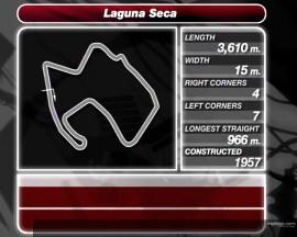 Information zur Laguna Seca Rennstrecke