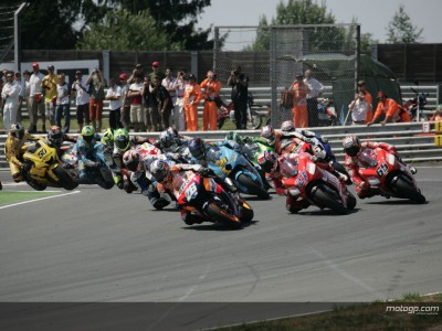 Michelin have the edge at Sachsenring