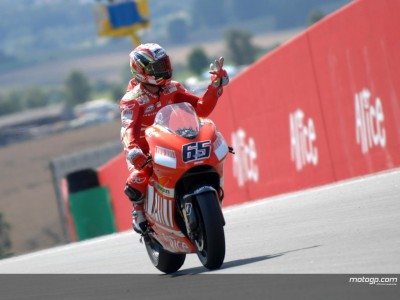 Canny Capirossi pleased to be back on the podium