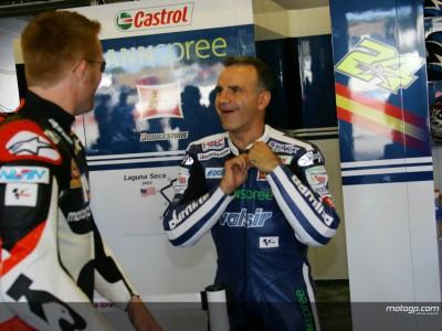 Duhamel feliz con la 800cc