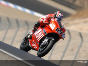 Capirossi looking to future after Laguna problems