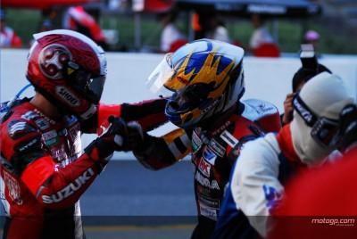 Suzuki triomphe dans le jardin de Honda