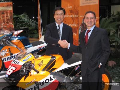 Repsol y Honda firman un nuevo acuerdo por dos años