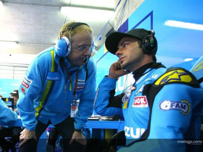 Working in MotoGP: Rizla Suzuki Chief mechanic Stuart Shenton