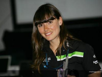 Trabalhar no MotoGP: Maria Serrat, responsável da hospitality da Kawasaki Racing