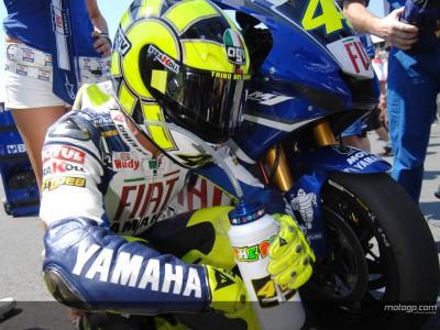 Rossi: 'Sólo voy a hablar de motos'