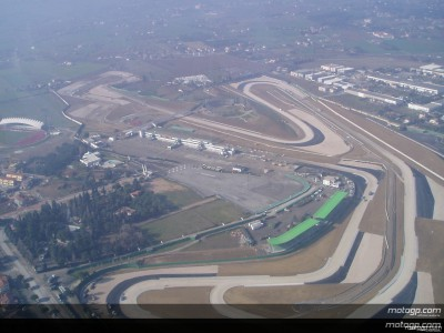 Amendments to time schedule at Misano