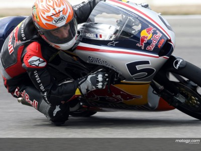 Zarco victorious in latest race for rookies