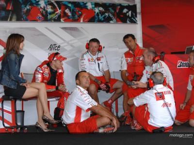 La pluie vient perturber les essais de Brno