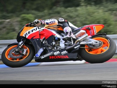 Honda factory riders reflect on positive test