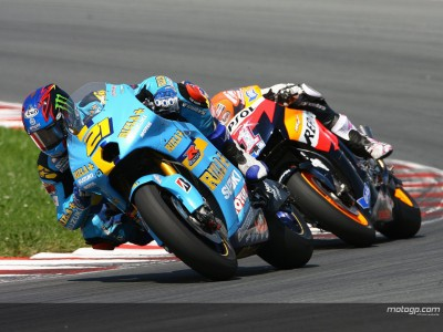 Suzuki advantage only extends to car park at Misano