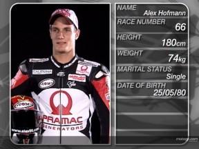 La Desmosedici GP7 di Alex Hofmann