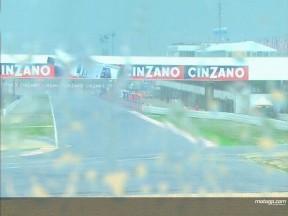 Alle Nachmittagssitzungen wegen starkem Regenfall abgesagt in Misano