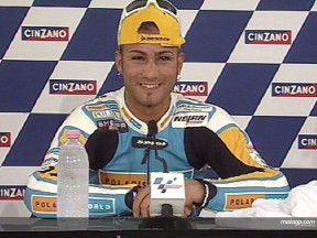 Misano 125cc podium views