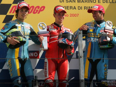 MotoGP top three review Misano action