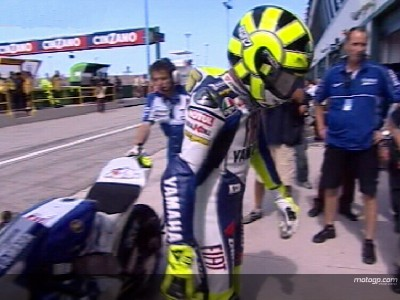 Rossi to persevere with new engine