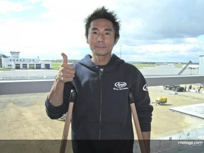 Sekiguchi se prépare pour Motegi