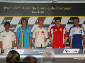 Quotes from the Estoril press conference