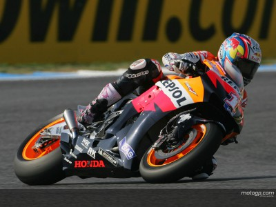 A step forward for Repsol Honda at Estoril