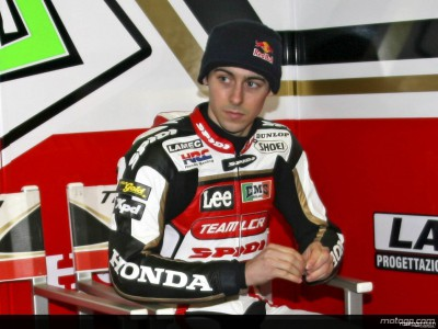 Laverty samples Honda history