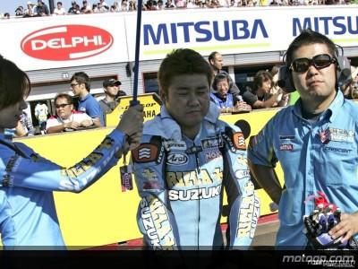Akiyoshi, le troisième homme du team Rizla Suzuki