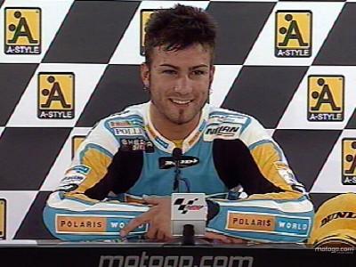Reacciones de los protagonistas del podio de 125cc de Motegi