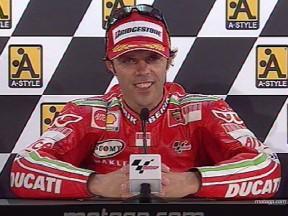 Parla il podio della MotoGP