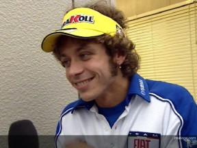 Valentino Rossi rende omaggio a Stoner