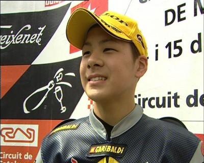 中上貴晶、スペインで初優勝