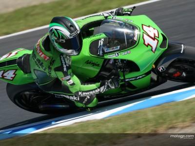 Bartholemy salue la performance des pilotes Kawasaki