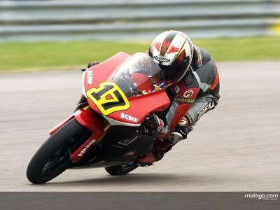 El británico Robbie Stewart participará en un test de la MotoGP Academy