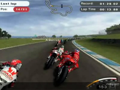 MotoGP 07 PlayStation 2 game coming soon