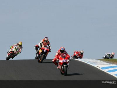 MotoGP podium views