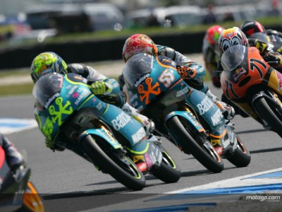 Aspar continue 125cc dominance