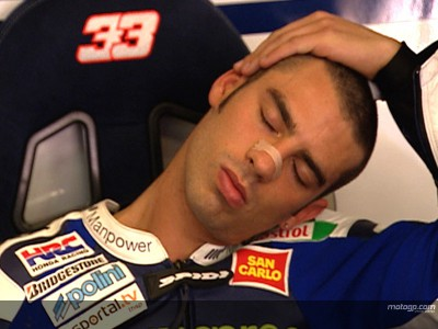 Marco Melandri's race day