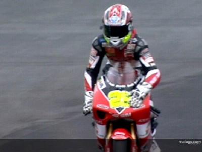 Hiroshi Aoyama earns first 250cc pole of 2007