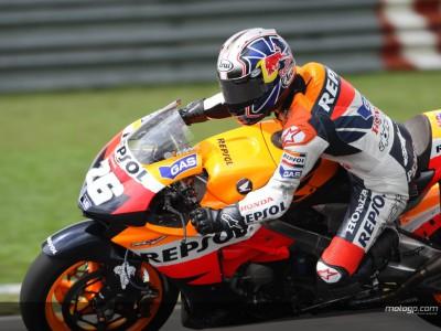 Pedrosa consigue su tercera pole consecutiva