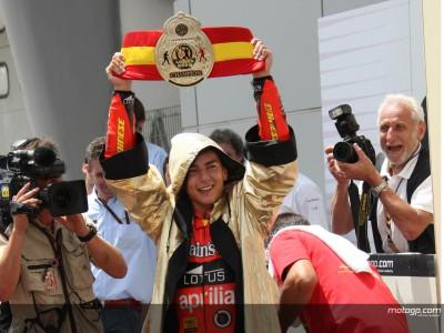 Jorge Lorenzo, sua la corona di Campione del Mondo della 250