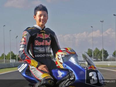 Nakagami al debutto in 125cc a Valencia
