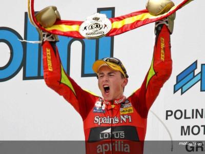 Lorenzo aún tiene a tiro el récord de puntos en 250cc