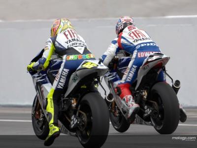 Rossi a asegurar el 2º puesto y Edwards toma rumbo al Yamaha Tech3