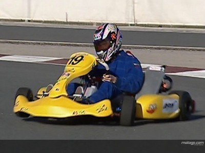 Karting competition precedes MotoGP action