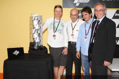 2008 MotoGP trophy unveiled in Valencia