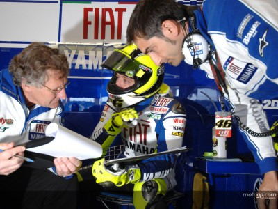 Rossi and Hayden cooled by track temperatures
