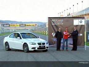 Stoner holt sich BMW M Award und gewinnt einen Sportwagen
